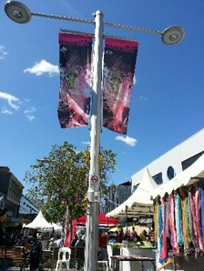 Friday markets/stalls at Chatswood, NSW Australia