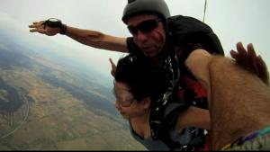 Free falling above Goulburn