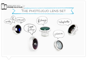 Photojojo Mobile Phone Lenses - iPhone and Android Lens Series