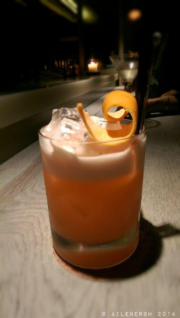 """Concubine"" Strawberry, lemon, grapefruit, orgeat, limoncello, tanqueray gin"
