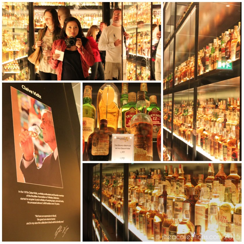 In the 1970s Claive Vidiz, a whisky enthusiast and founding member of the Brazilian Association of Whisky Collectors, started to acquire Scotch whisky of varying type, cost and rarity. He amassed almost 3,400 bottles over 35 years