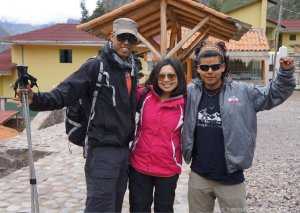 Our guide, Gerson, from Apu Andino Travel Peru