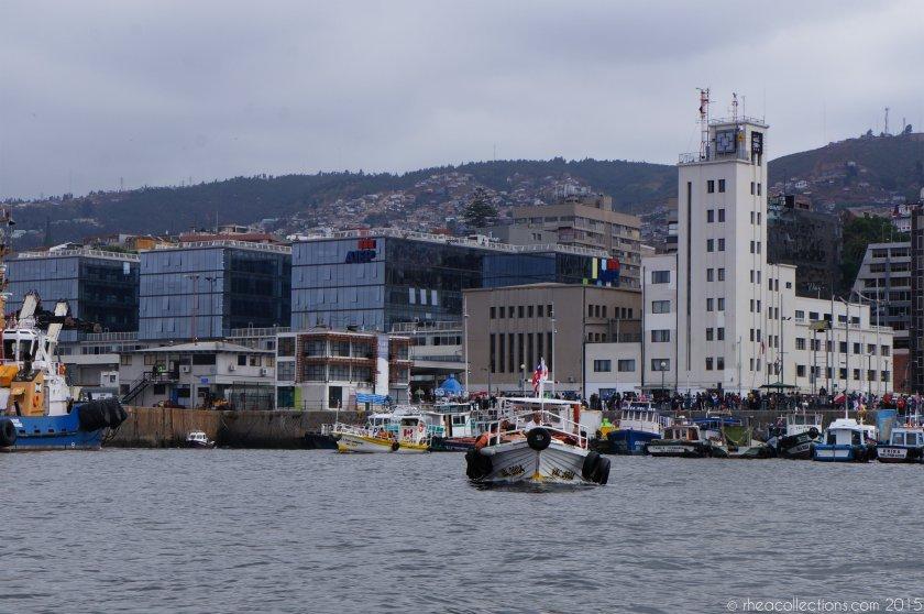 Valparaiso harbour boat tour
