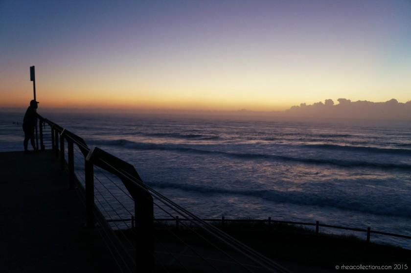 Sunrise near Shelly Beach, East Ballina NSW