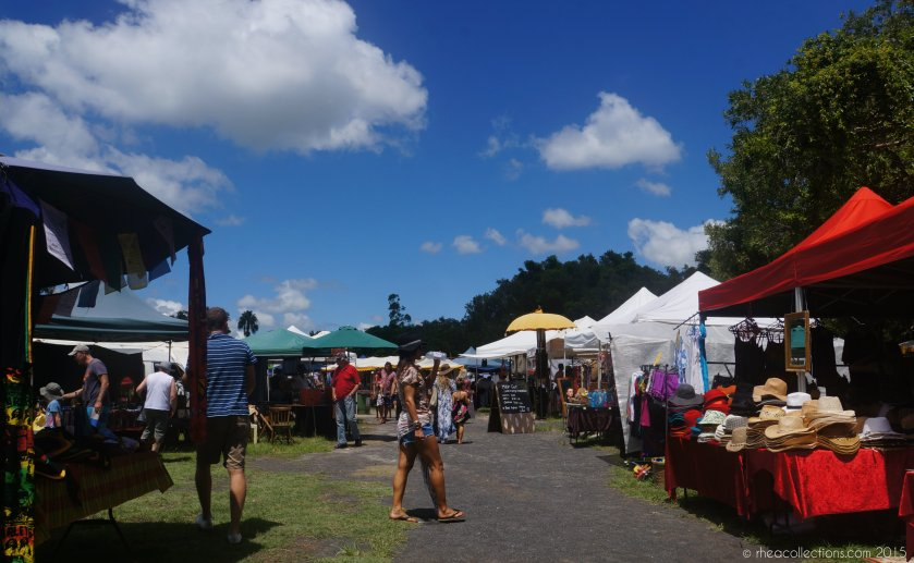 Byron Bay's Community Market, held at the Butler Street reserve on the 1st Sunday of each month