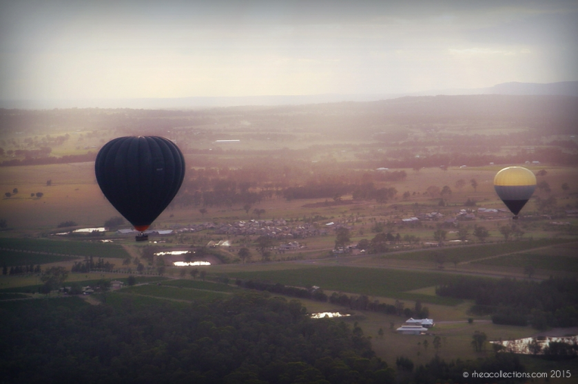 Hot air balloon, Hunter Valley NSW Australia
