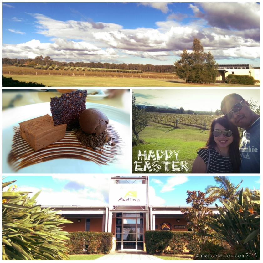 Emerson's Cafe & Restaurant at Adina Wines | Chocolate delice, doughnut, crumble and house made chocolate ice cream